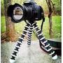 Tripé Flexível Grande Octopus Câmera Fotográfica