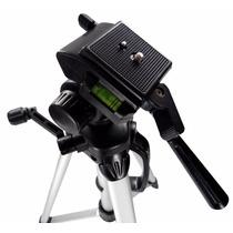 Tripe Alumínio Câmera Filmadora Telescópio 1.75 Mt Com Bolsa