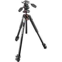 Manfrotto Mt190xpro3 + Mhxpro-3w Tripé Câmera Profissional