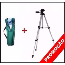 Tripe Aluminio Universal 1.50mt Camera Filmadora Telescopio