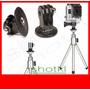 Kit Mini Tripé + Suporte Gopro Acessórios Câmeras Fotos