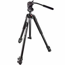Manfrotto Mt190x3-700rc2 Tripé Profissional Filmadora Video