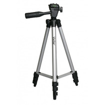 Tripé Base Tripod P/ Câmera Ou Filmadora 1,27m Vivvpt1250