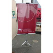 Tripé C/ Garra, Pedestal, Suporte P/ Banner, Porta Banner