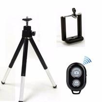 Tripé Celular Camera Universal Youtube Disparador Bluetooth