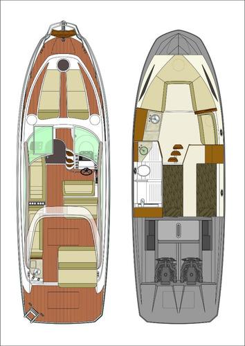 Triton 350 + 6.2 320 Hp Ñ Bayliner Phantom Focker Cimitarra