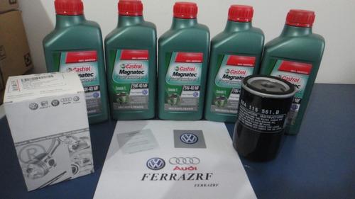 Troca De Oleo Golf Motor 1.8 1.8t E 2.0 Original Volkswagen
