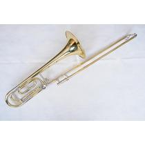 Trombone De Vara Tenor Suzuki Jbsl-812 Calibre Largo