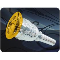 Bocal P/ Trombone Cal. Fino Jc Custom / Linha Ultra .