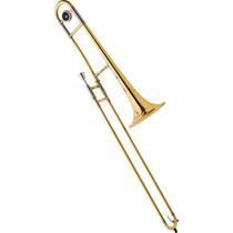 Frete Grátis - Eagle Tv600 Trombone De Vara Em Sib Laqueado