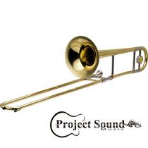 Trombone Harmonics De Vara Sib Hsl-700l C/ Case Rbnrock