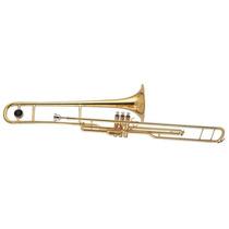 Trombone De Pisto Dolphin Sib Laqueado