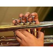 Trompete - Cd Com Métodos + Partituras + Teoria - Impecável