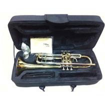 Trompete Laqueado Goldman Gtr535-l - Com Case Super Luxo