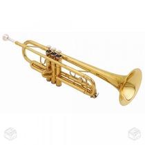 Trompete Shelter Sib Com Estojo Sft6418l Cheiro De Música