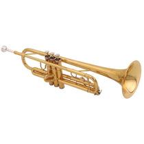 Trompete Com Estojo Bb - Shelter