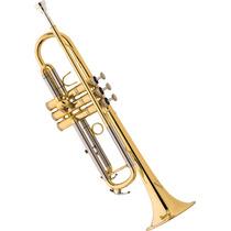 Frete Grátis - Eagle Tr504 Trompete Sib Acabamento Laqueado