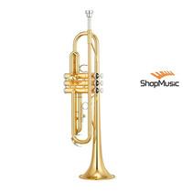 Trompete Yamaha Ytr-2330 Laqueado - Afinação Bb E Acabame...