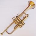 Antigo Instrumento De Sopro Trompete Weril Musical Decoração