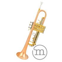 Trompete Laqueado Milano 3ts Si Bemol . Custom . Loja . Gtia