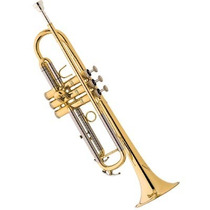 Trompete Eagle Tr504 Laqueado Sí Bemol