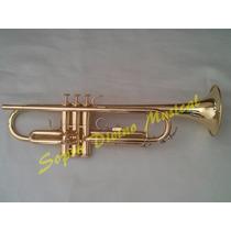 Trompete Sib Weril Et 1172l Brinde Capa Master Luxo Couro