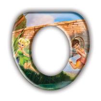 Adaptador P/ Vaso Sanitário Fadas Disney Original - Gedex