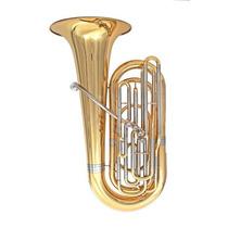 Tuba Compacta Em Bb 4 Pistos Stanford Sbb 520 L *