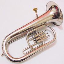 Instrumento Musical De Sopro Tuba Bombardino Objetos Antigos