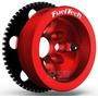 Kit Roda Fônica Fueltech Vw 60-2 Poli-v Para Ap 16v Vermelho