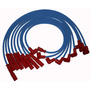 Cabo Ignicao 8mm Silicone Azul Dodge Dart Charger Rt 318 V8
