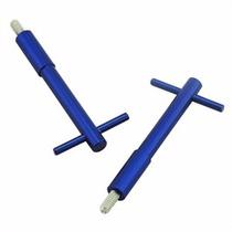 Parafuso Tampa Valvula Wing Nuts Alumínio Opala 6cc Azul