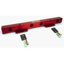 Flauta De Combustível Para Motor Ap Em Alumínio Vermelho