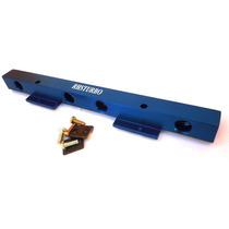Flauta De Combustível Para Motor Ap Em Alumínio Azul