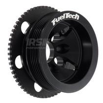 Kit Roda Fônica Fueltech Vw 60-2 Poli-v Para Ap 8v - Preta