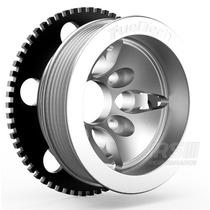 Kit Roda Fônica Fueltech Vw 60-2 Poli-v Para Ap 16v - Prata