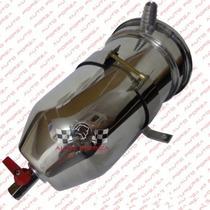 Reservatório P\ Respiro De Óleo 2 Litros Aluminio Universal