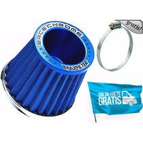 Filtro De Ar Esportivo Azul P/ Fiat Uno - Frete Gratis !