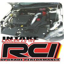 Kit Intake Cai Esportivo Lancer Gt 2.0 16v 2011 Em Diante