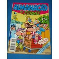 Almanacão De Férias Turma Da Mônica Número 19 - Edit. Globo