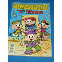 Almanacão De Férias Turma Da Mônica Número 5 - Edit. Globo
