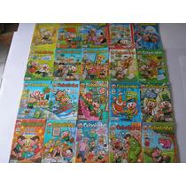 Cebolinha - 01 Ao 90 Lote Com 90 Revistas Ed.panini