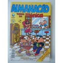 Almanacão De Férias Turma Da Mônica Número 4 - Edit. Globo
