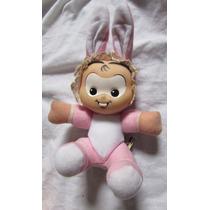 Boneca Pelúcia Monica 15 Cm