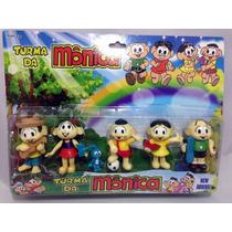 Turma Da Mônica Miniaturas Bonecos (kit)