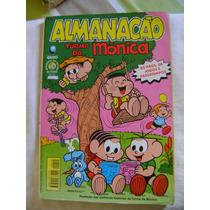 Almanacão Turma Da Mônica No.10 Abril 99 Ed Globo Bom!