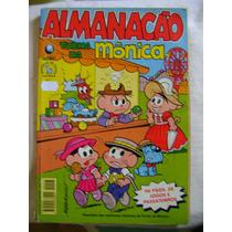 Almanacão Turma Da Mônica No.7 Out 97 Ed Globo