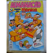 Almanacão Turma Da Mônica No.12 Abril 00 Ed Globo Ótimo