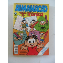 Almanacão Turma Da Mônica Nº 2! Ed. Globo Mai 1995!