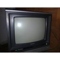 Tv Sharp Uhf 14 Pelegadas (funcionando)